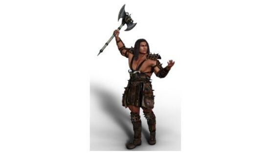 roleplay a barbarian in DnD