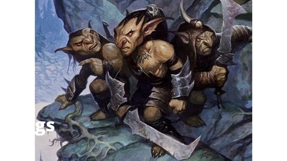 Running goblins in D&D